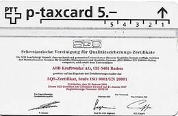PTT P: KP-94/120 403L ABB Kraftwerke AG - Schweiz