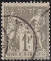 France   .    Yvert  .     72     .     O       .    Oblitéré   .   /   .     Cancelled - 1876-1878 Sage (Type I)