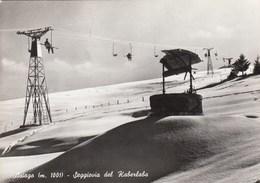 ASIAGO-VICENZA-SEGGIOVIA DEL KABERLABA-CARTOLINA VERA FOTOGRAFIA VIAGGIATA NEL 1964 - Vicenza