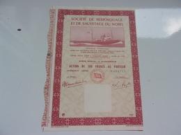 Société De Remorquage Et De Sauvetage Du Nord (dunkerque) - Shareholdings