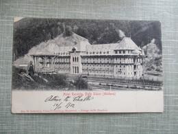 CPA MOLDAVIE HOTEL RACOVITA BAILE SLANIC - Moldavie