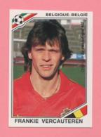 Figurina Panini 1986, Coppa Del Mondo - Belgique-Belgie - Frankie Vercauteren - Trading Cards