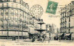 75  PARIS 12e AR   SERIE TOUT PARIS  PLACE RAMBOUILLET  ET RUE DE CHARENTON - Arrondissement: 12