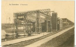 La Louvière 1927; L'Ascenseur - Voyagé. (Belge - Bruxelles) - La Louviere