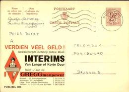 BELGIQUE - Publibel à Voir Pour Thèmes - L 31054 - Stamped Stationery