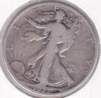 Etats-Unis. Half Dollar 1923 S San Francisco. Walking Liberty. Argent - 1916-1947: Liberty Walking