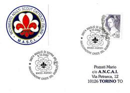 ITALIA - 2000 MAGLIO DI SOPRA (VI) Inauguraz. Croce Del Giubileo MASCI-AGESCI Scout - Scoutismo