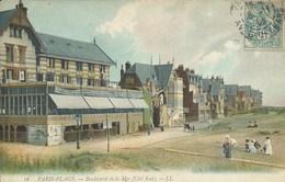 Le Touquet - Paris Plage - Boulevard De La Mer ( Côté Sud ) - Le Touquet