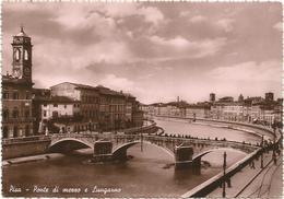 W3292 Pisa - Ponte Di Mezzo E Lungarno / Non Viaggiata - Pisa