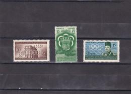 Egipto Nº 282 Al 284 - Egipto