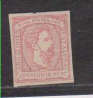 Año 1874  Edifil 157 16mv Carlos VII - 1873-74 Regency