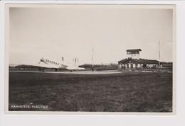 """Vintage Rppc KLM K.L.M Royal Dutch Airlines Douglas Dc-2 """"Toekan"""" @ Vliegveld Haamstede Airport - 1919-1938: Between Wars"""