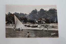 CPSM Animée - ANDERNOS Les BAINS (33) - La Plage Du Mauret - 1960 - Andernos-les-Bains