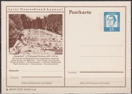 BRD Ganzsache 1964 MiNr.P81 37/279 Wildemann/Oberharz Spiegelbad Ungelaufen( PK 126) Günstige Versandkosten - Geïllustreerde Postkaarten - Ongebruikt
