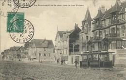 Le Touquet - Paris Plage - Le Boulevard De La Mer Vers La Rue Saint Jean - Le Touquet