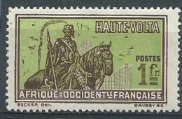 Haute Volta     -   Yvert N° 58   *       Bce 21218 - Obervolta (1920-1932)