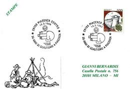 ITALIA - 1996 PIACENZA 50 Anni Di SCOUTISMO A Piacenza - Scout - Scoutismo