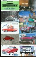 10 Télécartes Différentes VOITURE  (LOT 1)  10 DIFFERENT PHONECARDS CAR  * 10 VERSCHIEDENE TELEFONKARTEN AUTO - Voitures