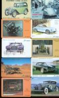 10 Télécartes Différentes VOITURE  (LOT 2)  10 DIFFERENT PHONECARDS CAR  * 10 VERSCHIEDENE TELEFONKARTEN AUTO - Automobili