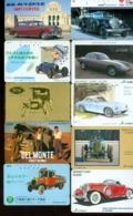 10 Télécartes Différentes VOITURE  (LOT 3)  10 DIFFERENT PHONECARDS CAR  * 10 VERSCHIEDENE TELEFONKARTEN AUTO - Automobili