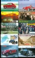 10 Télécartes Différentes VOITURE  (LOT 5)  10 DIFFERENT PHONECARDS CAR  * 10 VERSCHIEDENE TELEFONKARTEN AUTO - Automobili