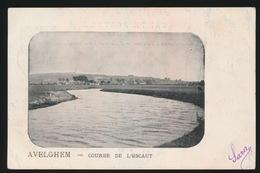 AVELGEM     COURBE DE L'ESCAUT - Avelgem
