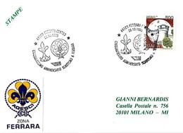 ITALIA - 1995 FERRARA 50 Anni Di SCOUTISMO A Ferrara - Scout - Scoutismo