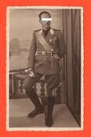 Opera Balilla Gerarca Pugnale Becco D'aquila Divisa Fiamme Bianche Foto Fine Anni '30 - Guerra, Militari