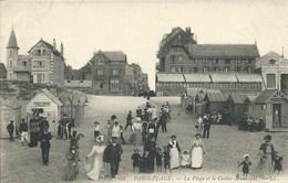 Le Touquet - Paris Plage - La Plage Et Le Casino Municipal - Le Touquet
