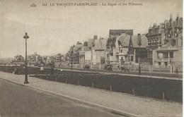 Le Touquet - Paris Plage - La Digue Et Les Pelouses - Le Touquet