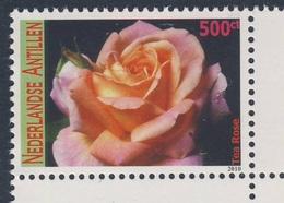 Nederlandse Antillen 2010 Mi 1812 ** Tea Rose / Teerose - Flowers / Blumen -  Blüten - Roses
