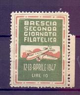 CINDERELLA ERINNOFILIA SECONDA GIORNATA FILATELICA 1947 (GIUGN190035) - Erinnofilia