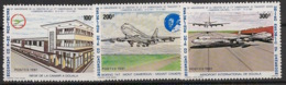 Cameroun - 1981 - N°Yv. 666 à 668 - Cameroun Airlines - Neuf Luxe ** / MNH / Postfrisch - Cameroon (1960-...)