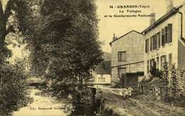 88 - GRANGES / LA VOLOGNE ET LA GENDARMERIE NATIONALE / A 448 - Granges Sur Vologne