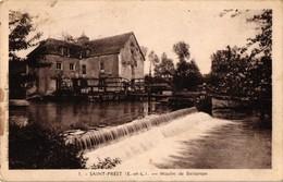 28 .. SAINT PREST ... MOULIN DE BELLANGER  ... 1939 .. FRANCHISE - Autres Communes
