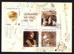 Italia 2019 - Leonardo Da Vinci BF - 6. 1946-.. Repubblica