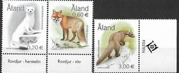 Aland 2004 Animals/animaux Mint/neufs - Aland