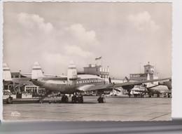 Vintage Rppc KLM K.L.M. Lockheed Constellation L-749 @ Flughafen Dusseldorf Airport - 1919-1938: Between Wars