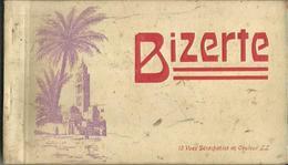 CARNET Incomplet De 11 Cartes Postales Anciennes De BIZERTE. - Tunisie