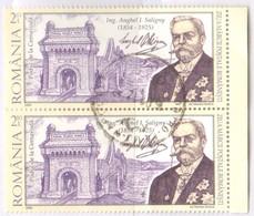 Romania 2009 Anghel I. Saligny Fu 2 Val - 1948-.... Repúblicas