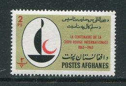 AFGHANISTAN- Y&T N°747- Neuf Sans Charnière ** (croix Rouge) - Afghanistan