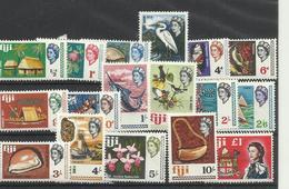 Fidji  YT ** 219/35  Oiseau Flore Coquillages Bateau Poisson Espadon ..... - Fidji (1970-...)