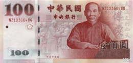 Taiwan 100 NT$ (P1991) (Pref: NZ) -UNC- - Taiwan