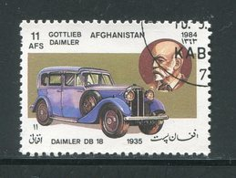 AFGHANISTAN- Y&T N°1185- Oblitéré (voitures) - Afghanistan