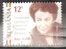 Romania 2016 Ana Aslan Fu - 1948-.... Repúblicas