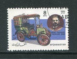 AFGHANISTAN- Y&T N°1184- Oblitéré (voitures) - Afghanistan