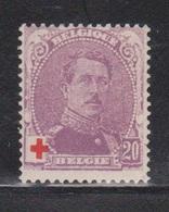 BELGIUM Scott # B27 MNH - Semi-postal - 1918 Rotes Kreuz