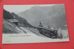 Berne Murren Bahn Train NV Primi 1900 - BE Berne