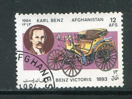 AFGHANISTAN- Y&T N°1186- Oblitéré (voitures) - Afghanistan