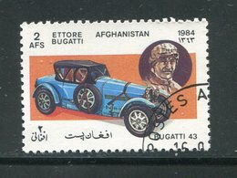 AFGHANISTAN- Y&T N°1182- Oblitéré (voitures) - Afghanistan